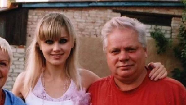 Натали с отцом Анатолием