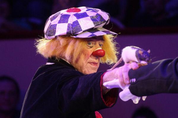 Олег Попов пришел в цирк случайно