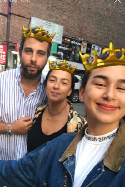 Эрика с папой и мамой