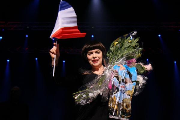 Публика рукоплескала французской звезде