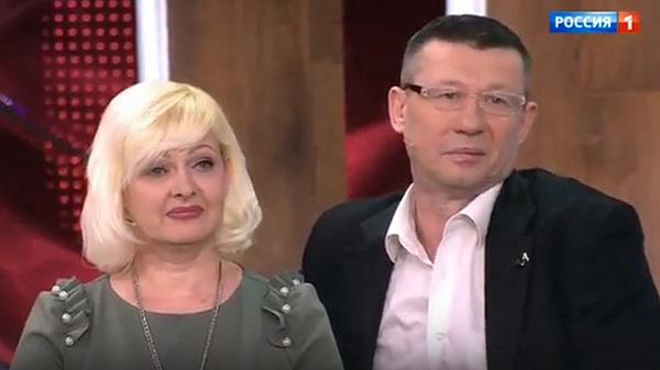 Жена Олега Протасова Светлана поддерживает мужа