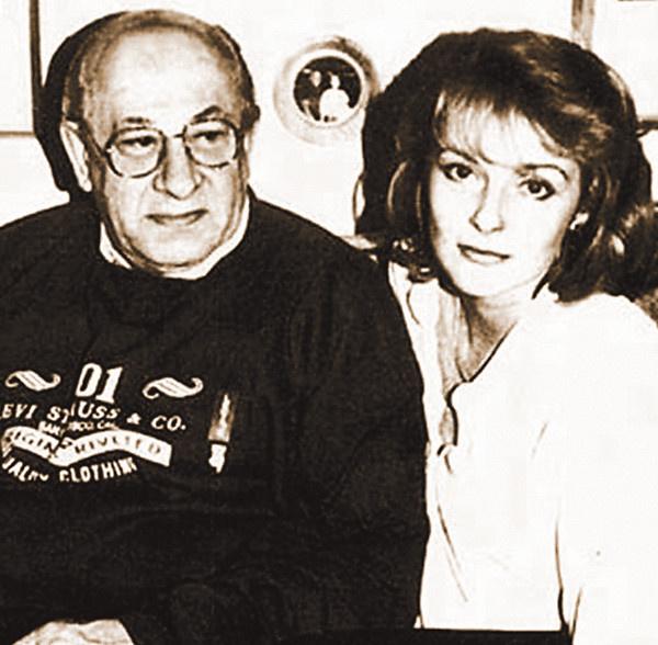 Ирина Цывина и Евгений Евстигнеев