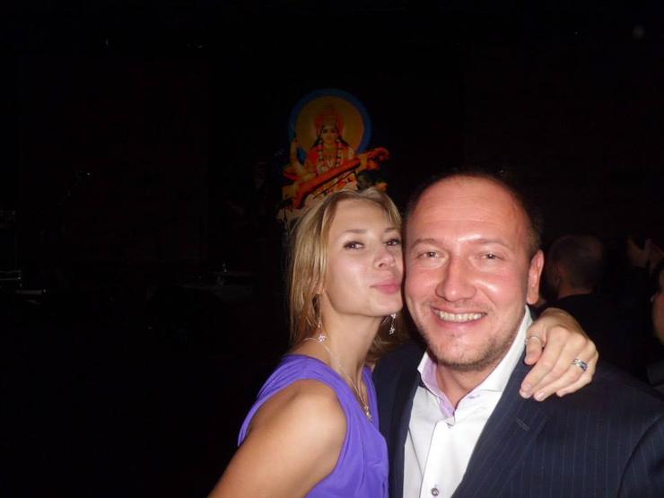 Юлия Коваль с бывшим мужем Михаилом Штырлиным