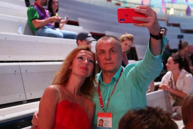 Елена Захарова и Андрей Соколов