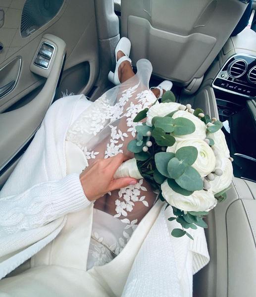 Мария показала кадры со свадьбы