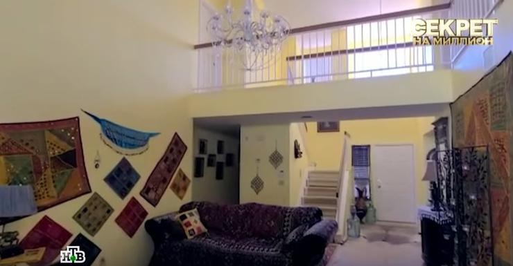 Первый этаж дома в Лас-Вегасе принадлежит подруге семьи Наталье