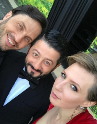 Александр Ревва, Михаил Галустян и Яна Чурикова