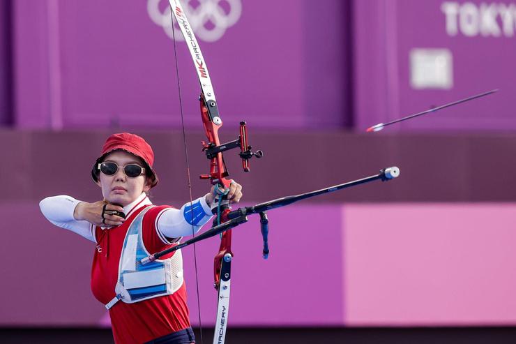 Новости: Переполох на Олимпиаде в Токио. Лучница Светлана Гомбоева потеряла сознание во время выступления – фото №2