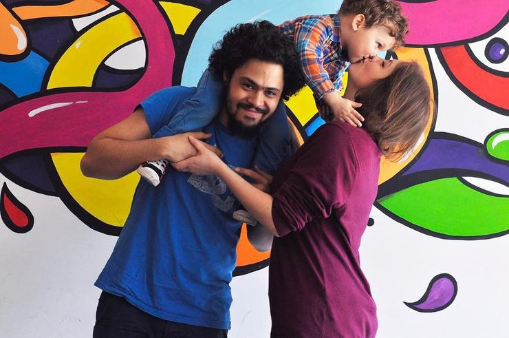 Понаровская обожает сына и его семью