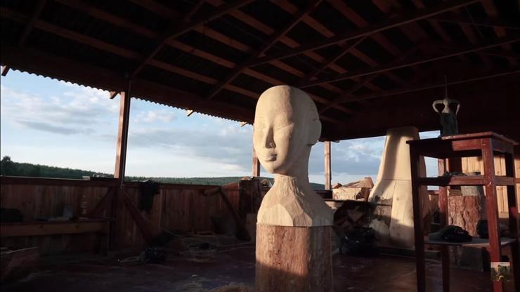 В планах скульптора открыть мастерскую для художников