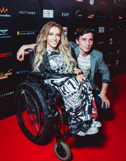 Юлия Самойлова с супругом