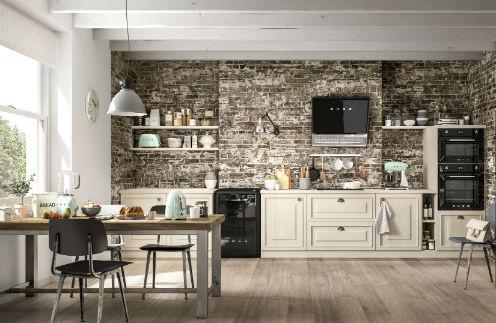 Производитель бытовой техники SMEG оснащает кухни стильной мебелью