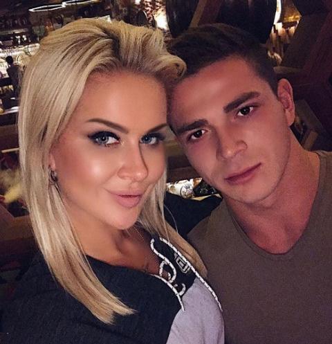 Марина Африкантова и Роман Капкалы