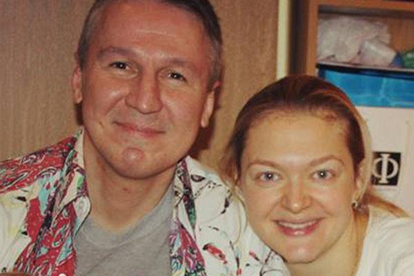 Алексей Дайнеко и его жена Елена Логацкая