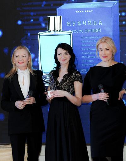 Лариса Вербицкая (жюри), Яна Гайсина (Клас-Трейдинг) и Мария Шукшина (жюри)