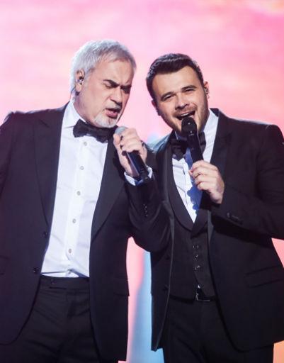 Эмин и Валерий Меладзе