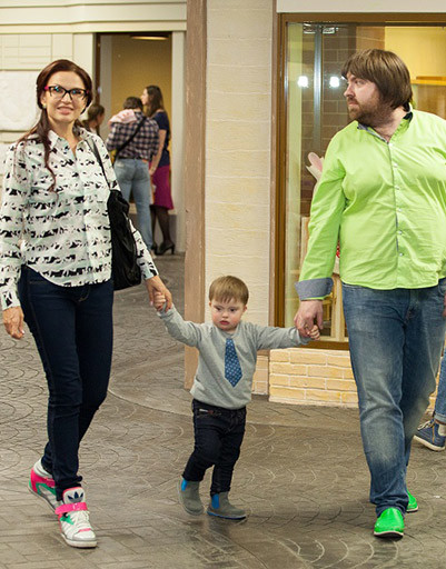 Эвелина Бледанс, Александр Семин с сыном Семеном в «Мастерславле»