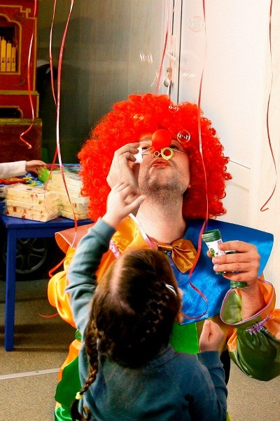 Николай Басков поддержал движение «Больничные клоуны»