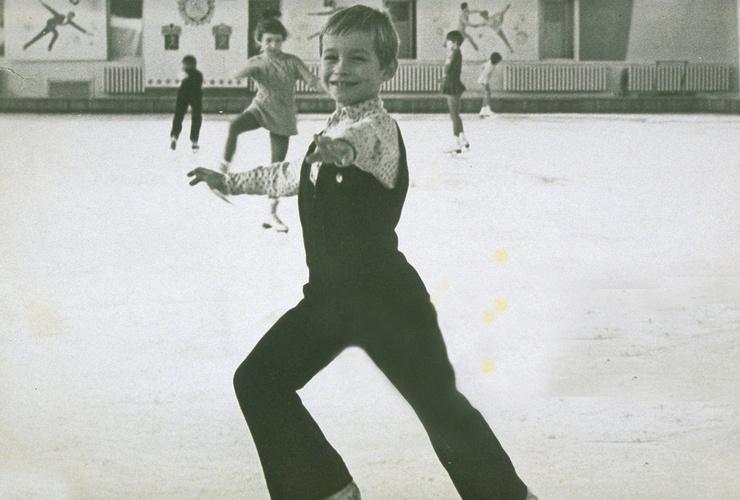 Жизнь Сергея Гринькова с пяти лет была связана с фигурным катанием
