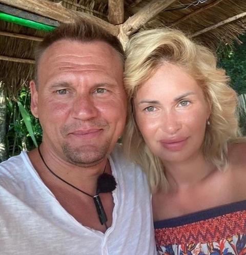Степан Меньщиков и Ангелина Монах стали родителями