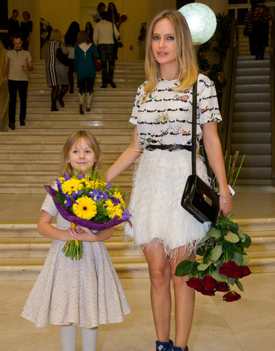Глюк'Ozа с дочерью Лидой