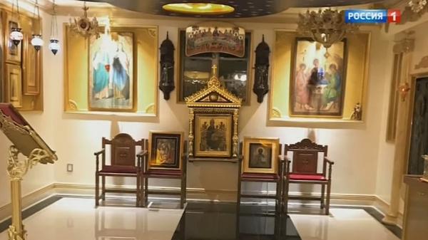 Храм, который певец соорудил у себя дома