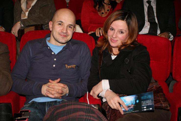 Егор Дружинин с женой Вероникой Ицкович