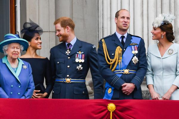 Королевская семья так до конца и не приняла Меган