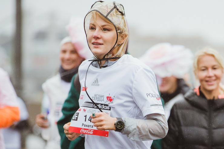 Рената Литвинова на дистанции