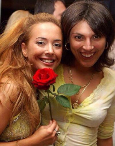 Жанна Фриске и Ксения Степанова