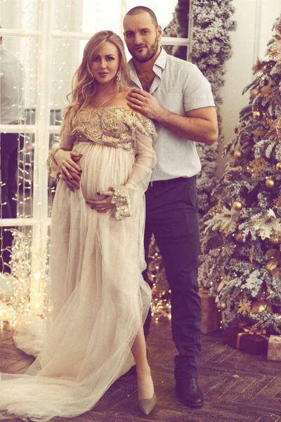 Алексей и Юлия устроили романтическую фотосессию в конце беременности