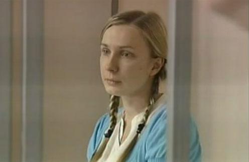 Анастасия Дашко в зале суда