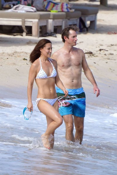Пиппа и Джеймс отдыхают на острове Сен-Бартелеми