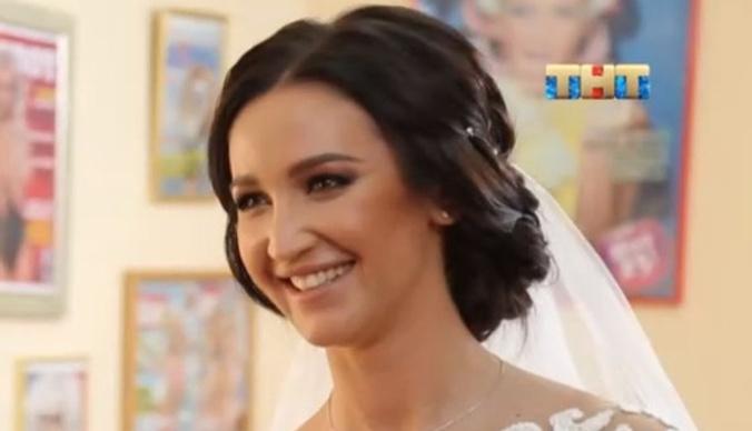 Ольга Бузова устроила свадебное торжество