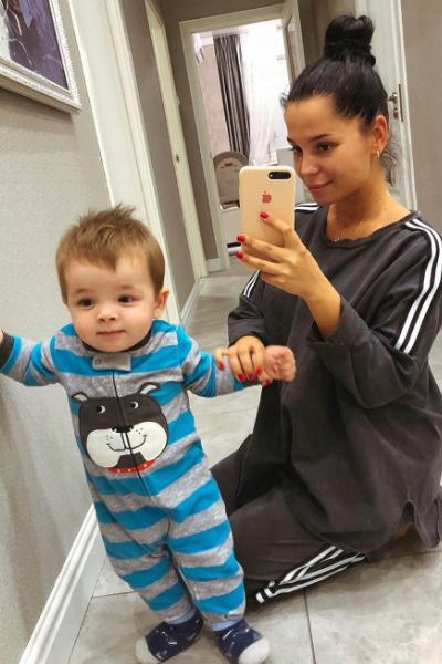 Салибекова похвасталась достижениями малыша