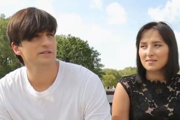 Дмитрий Колдун с супругой Викторией