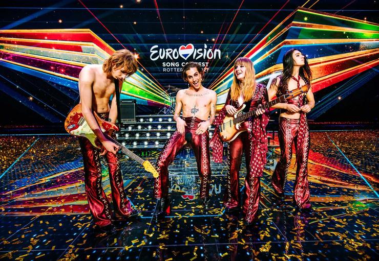 Группа Maneskin стала триумфатором песенного конкурса в Роттердаме