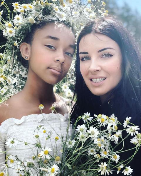 Валерия с дочерью Каролиной