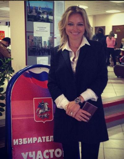 Инна Маликова предпочитает голосовать вечером