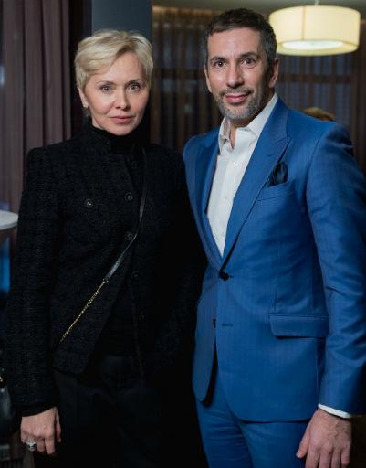 Наталья Станевич официальный визажист модного дома Guerlain и совладелец бренда GallaDance Алексей Миндель