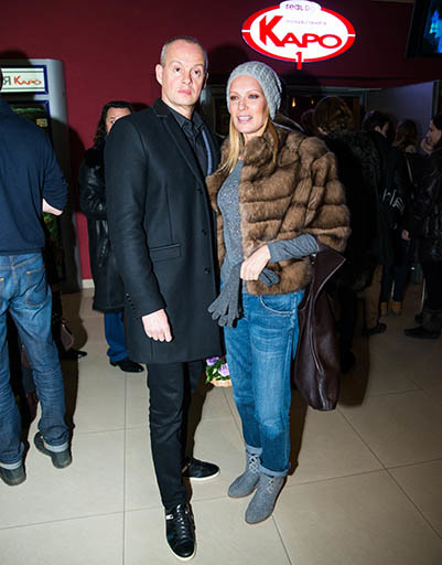 Олеся Судзиловская с супругом