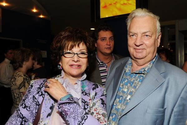 Михаил Державин с женой Роксаной