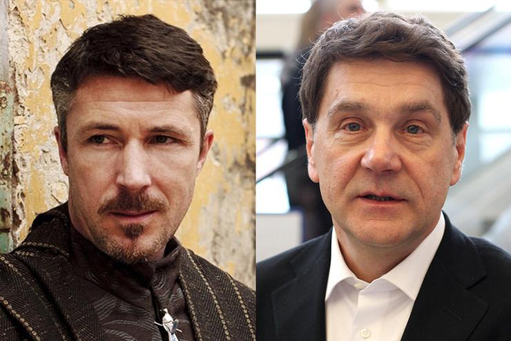 Эйдан Гиллен и Сергей Маковецкий