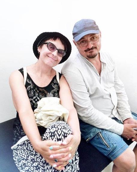 Светлана Рожкова с мужем Юрием