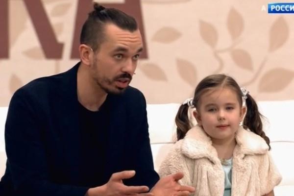 Антон Ананьин с дочерью Радамирой