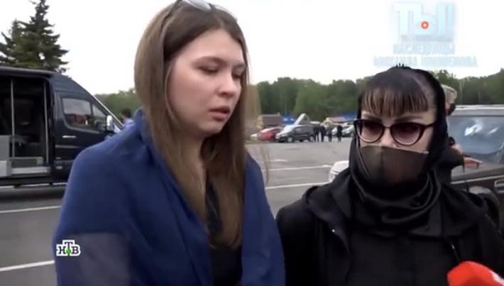 Мария впервые появилась на телевидении