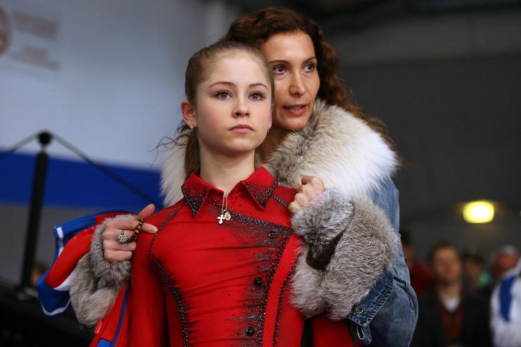 Юле Липницкой посчастливилось попасть в команду Этери Тутберидзе