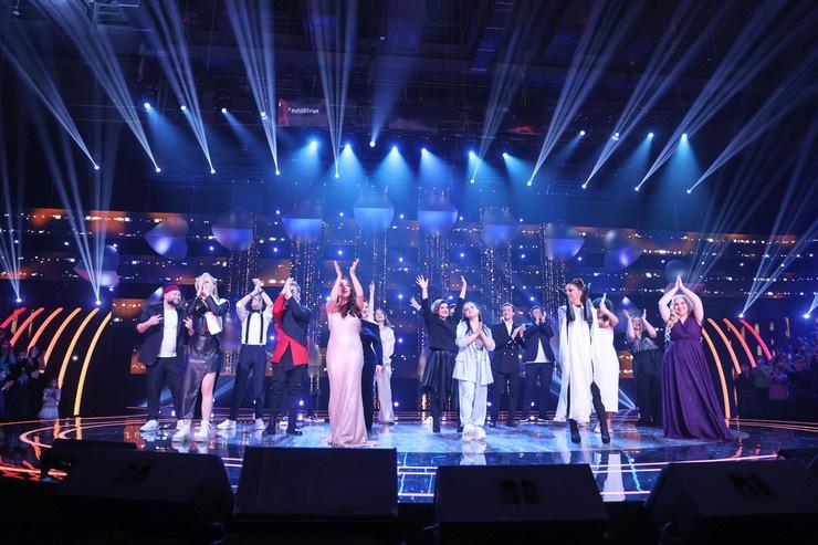 Многие участники шоу не смогли набрать более 40 голосов