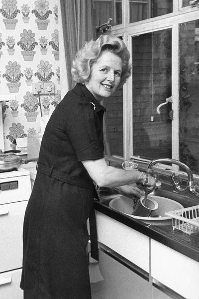Несмотря на занятость, Маргарет сама готовила мужу