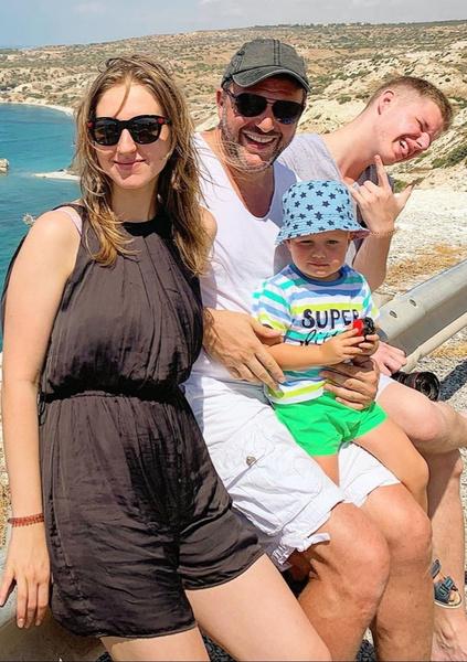 Максим Виторган воспитывает троих детей